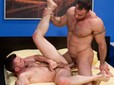 gay porn Spencer Reed And Morgan Black || Spencer Reed On Top, Gets A Hold Of Morgan's Ass! It's On!