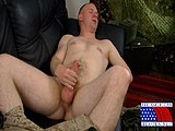 Gay Porn from AllAmericanHeroes - Marine-In-Uniform-Stroking