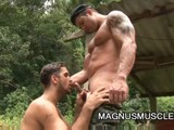 gay porn Muscle Stud Junior Pavanello || Muscle Stud Junior Pavanello Cock Is Rock Hard as Latino Yuri Bryan Teases It and Then Fucks Him Hard In the Ass.