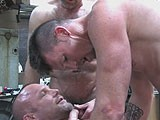 gay porn Double-fucked And Bree || a Group of Hot Muscle Men Endulging In Some Serious Bareback Action.