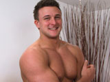 gay porn Drew Lies Back And Lets Dan Su || Gentle giant, hunky Drew is back for his third shoot; and really pushes past his comfort zone, or is that is pushed! It has been a couple of months since Drews last video and its pretty visible that he has been hitting the gym hard again, this guy is even bigger and more beefy! This is a great ploy to get him down to his boxers so we can check out his pecs, abs and guns. Then we have a surprise for Drew, he covers his eyes, cue Suzie who wastes no time in exploring Drews beautifully sculptured body. Pulling down his tighty pinkies Dan starts to play with Drews uncut cock, massive when soft and its soon rock hard, Dan not able to believe how massive a new toy he has to play with! Dan gives Drew a lick, its like a lollipop before sliding it down his throat gorging himself on Drews massiveness! Drew, now breathing much deeper with those quick hand strokes is soon spunking a thick load all over his abs and in Dan's hand. Another straight boy, another boundary pushed!