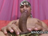 Latin Dilf Yago Ribeiro Strip Teased Then Jerk Off His Cock.