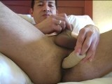gay porn Carlos And His Toy || Carlos Is a Bi Dude From Latin America but Now Living In Winnipeg. on a Recent Trip There I Met Up With Him and He Told Me He Likes to Be a Bottom for Gay Guys or Bi Couples. I Had Hoped There Would Be a Few More Guys In Winnipeg Wanting to Do a Video but Like I Remember From Living There In the Past, the Local Scene Is Pretty Hush Hush Never Mind Being a Porn Star! I Ended Up Playing With Him In My Hotel Room With a Hot Dildo He Brought From Home. Damn Didn't He Shove the Entire Thing Up His Ass! You Gotta See This Video When It Gets Released-mark the Date on Your Calendar!