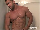 gay porn Titan Muscle Shower || See More on Frank Muscle Worship Sites