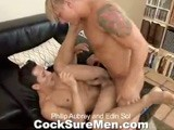 gay porn Phillip And Edin || Phillip Aubrey Is Taking a Trip to Mexico and Is Getting a Lesson In Espanol From Edin Sol. It Starts Out Innocently Enough With Phillip Asking How to Say &quot;please.&quot; However, Phillip Has a Dirty Mind and Not so Innocent Intentions. He Asks Edin How to Say &quot;i Want Your Cock&quot; and Then Delves Into a More 'hands On' Approach. That of Course Leads to a More 'mouth On' Approach. the Guys Take Turn Sucking Each Others Cocks, and Phillip Makes Sure to Get a Mouthful of Edin's Tasty Hole While He's At It. With His Ass Wet and Ready, Phillip Dives In With His Thick Dick. Phillip Really Knows How to Fuck. You Might Even Say He's &quot;muy Bueno&quot; At It! Edin's Moans Fill the Room as He Gets Slammed Full of Cock, This Way and That. the Action Peaks and the Guys Cum Simultaneously Onto Edin's Rock-hard Stomach! It's a Cumtastic Finish That You'll Be Sure to Watch Again and Again.