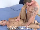 gay porn Adam And Chris || Adam Hardy and Chris Tyler Are Both Ripped and Ready to Play. They Flex and Pose for Each Other, Admiring the Hard Work and Dedication It Takes to Get Amazing Bodies Like Theirs. Out Come the Uncut Cocks and Adam and Chris Take Turns Frotting and Playing With Each Others' Foreskin. Adam Is the First to Get His Cock Sucked but He Makes Sure Chris's Dick Gets All the Attention It Deserves, Too. With Both Guys Rock-hard and Ready, Chris Jumps on Top of Adam and Rides Him. Chris Slams His Ass Up and Down on Adam's Thick Rod, Taking Every Inch While His Cock Flops Around Wildly. Adam Continues to Punish Chris's Hole Until He Blows His Load All Over Chris's Chiseled 6-pack Abs. Chris Also Pops Onto His Tight Stomach, Shaking In Delight.