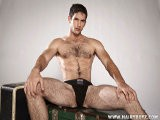 <br />jimmy Fanz Likes It Nice and Easy as He Sits Back, Looking Cool and Relaxed With Cock In Hand. He Begins Stroking His Big Boner In a Slow Sensuous Rhythm Then Gradually Speeds Up to Ensure the Fleshy Pole Is At Its Thickest and Firmest Aroused State. Then He Reaches Between His Legs to Play With His Ass. to Heighten His Excitement, Jimmy Jams a Big Black Dildo Up There, Working His Two Erogenous Zones Simultaneously Until He Squeezes Out Gobs of Thick Gooey Jizz All Over His Fingers.