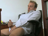 gay porn Heath Anthony Solo || 'Blond, hairy hottie Heath Anthony shows off his chest rug and curved cock in this solo video. He's all man, and not afraid to show it.