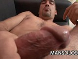 Latino Dilf Dani Teases His Cock and Then Exploded With Cum.