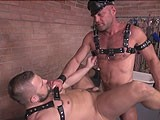 gay porn Hunky Leather Guy Gets Fucked || Chad Brock Fucks Milan Steel.<br />