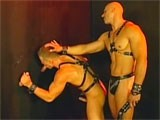 gay porn Muscle Leather Glory Hole || Horny Leather Hunks Having Sex.