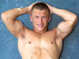 gay porn Football Jock Donny || Donny - 18 Year Old Football Jock Busts a Juicy Load OUTDOORS!