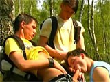 Gay Porn from StrongMen - Three-Boys-Outdoors