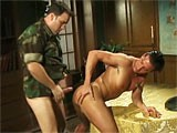 Two Horny Military Hunks Having Hardcore Sex.