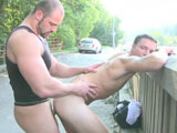 Body Buildling Public Raw Sex  || 