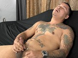 gay porn Rodney's Audition || It's Beefy Latino Stud Rodney's First Time Doing Anything on Camera, but He Just Might Be a Natural. He Flexes and Poses While Sporting His Rock-hard, Uncut Boner, Then Leans Back on the Couch to Whack Out a Thick Load of Cum.