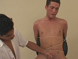gay porn Shane - Part 2 || Welcome back to BoyGusher, today we have Shane in the house. Shane is being touched all over by Mr. Hand. He doesn't seem to mind as his nipples are tweaked and he moans out loud. Mr. Hand moves around and slowly inserts his hand into Shane's briefs fondling and touching his cock until he pulls those undies down releasing his cock.