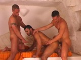 gay porn Time For A Threesome! || an Italian Stallion, a Latin Hunk and a Czech Cutie: Three's Not a Crowd!