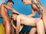 gay porn 3 Fucking Studs || Cody Cummings watches Brandon Lewis and Tyler Torro ass fuck