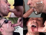 25 Hot Cum-eating Facial Cumshots All Shot Down the Throat of Cum Hungry Aaron French. Watch the Entire Video Only At Suckoffguys.<br />