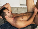 gay porn Titan Leo Alarcon And Dario Be || Still hungry, Leo buries his beard into Darios hole, warming it up for a doggie-style fuck that has Darios cock twitching as their toned bodies grind. Dario then gets his crack at Leos ass, fucking the moaning bottom from behind before turning him over in a memorable overhead shot. As he gets plowed deep, Leo strokes his super-stiff shaftfinally coating himself with a huge load before Dario dumps a wad, the two kissing to end the action.