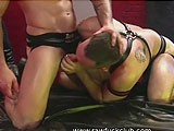 gay porn Tommy And Oliver || Tommy Hawk Pounds the Fuck Out of Oliver's Raw Tight Hole Showing No Resistance At All.