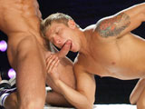 gay porn Kiss Lick Suck Fuck - Part 2 || Trenton Ducati lubes Philip Aubreys ass with spit and rides it