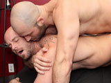 gay porn David Chase Fucks Mitch Vaughn || Gym buddies David Chase and Mitch Vaughn are getting ready for a hard workout, but when Mitch catches his straight buddy checking out his impressive bulge the gay dude makes a move, and gives him a completely different kind of workout instead! It pays off, and moments later he's sucking the married guys cock! The hairy straight guy gets a taste of Mitch's big tool next, but the feel of that muscle ass welcoming his dick inside is what really gets him ramming it deep!