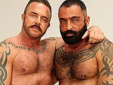 gay porn Tom And Pete || an Extra Helping of Burly and Hairy In the Form of Pete Finland and Tom Colt. These Cock Slurping, Arse Eating Piggies Sort Each Other Out Good and Proper. Pete Ends Up Face Down on a Glass Table, Spreading His Furry Cheeks for Tom's Big.