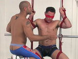 gay porn Leo Forte Tickles Tris || Leo Forte tickles Tristan Phoneix and makes him suck his cock