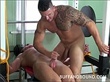 Todd Parker Gym Bounad and Fucked