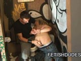 Fetish Dude Punishing A Twink ||