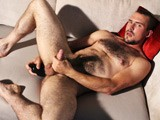 gay porn Hot Hairy Athlete! || With Classic Good Looks and Strong Features, Guy Rogers Is a Very Sexy Looking Lad. Seriously Into Sport and Fitness, He Has a Hot Body, His Legs Are Very Muscular, and Very Hairy, as Is His Chest.. Stripping Down to a Jockstrap He Oils Up His Body Then Jerks Off, Plays With His Arse and Works His Hairy Hole With a Black Dildo, Before Shooting His Spunk Over His Hairy Abs..<br />