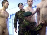 gay porn Army Private Wanked || In the Cmnm Barracks Private Davies Has the Gall to Stand There Naked Growing a Big Fat Stiffy In Front of His Staff Sergeant. When One Soldier Is Disobedient the Entire Squad Is Punished. One by One Each of Gerry's Buddies Is Ordered to Wank Him Off Until His Balls Are Fully Emptied. the Scruffy Soldier Winces as His Cock Is Roughly Handled by Man After Man.