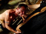 Seeing Tristan Jaxx shove his hairy face into Rick Powers should be listed as one of the seven wonders of the world, along with his thick cock, that is. That big tool gets plenty of action in this video too as he shoves it into Rick's waiting hole and plows him like a piece of dirt.