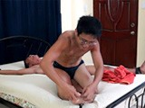 Introducing a Brand New Gay Asian Tickle Boy, Javey, Who Fully Admitted to Being Very Ticklish. He's Got Such a Tight Lean Toned Body and Beautiful Asian Boy Feet, and His Feet Are as Ticklish as the Rest of Him. I Took the First Turn Tickling Him, and He Was Shy to Let Out the Laughter At First, but His Body Contortions and Struggling as I Poked and Prodded His Ribs and Pits Told Me We Would Have This Cutie Laughing Soon. Ricky Stepped In and Immediately Tickled the Holy Living Daylights Out of Him and We Enjoyed His Cute Ticklish Laughter for the Next 20 Minutes!<br />asian Feet Foot Tickle Fetish