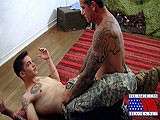 gay porn Hot Self-defense Techniques || Specialist Timo and Damage Controlman Michael Are Showing Each Other Self-defense Techniques. Timo Seems a Little More Knowledgeable and Ends Up on Top for Every Move They Practice. the Uniforms Are Getting a Little Hot.