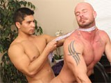 gay porn New Guy Gets His Reven || This Is the Finale From Our Upcoming Dvd Release, &quot;my Horrible Gay Boss.&quot; Spencer Williams Gets the Dirt He Needs to Turn the Tables on His Pervy Boss, Mitch Vaughn. the Lecherous Executive Gets a Mouthful of the New Guy's Bowtie and an Ass Full of His Cock! <br />