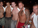 Gay Porn from MaverickMen - Pool-Party-Gang-Bang