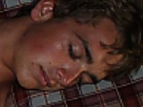 Just 18 College Swimmer Jace Gets Seduced While Taking a Nap.
