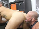 "gay porn Horny Office Butt Bang || Nothing Says ""thank You"" Like a Stiff Cock Sliding Into Your Ass! or That's What Horny Musclebound Hunk Casey Williams Thinks At Least. He's Determined to Show New Guy Parker Wright Just How Appreciative He Is and He Has a Rock Solid Muscle Cock to Use In the Process."