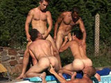 Wank Party 2010 Part 6 Pool Siesta