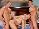 gay porn Marcus Mojo Jimmy Clay || Marcus Mojo, Tyler Torro and Jimmy Clay in a sexy threesome