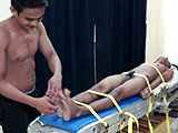 Gay Porn from LaughingAsians - Benjamin-On-The-Tickle-Rack