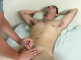 Welcome back to BoyGusher! In this update we Ryan with us. Ryan is a total newbie to having his cock stroked and jerked by another guy. He says he's had girls jerk his cock, but never a guy. You could see how nervous he was as he tried to answer my questions.