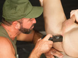gay porn Josh West And Brian Bonds || Captian Josh West wrecks Brian Bonds ass with a latex cock
