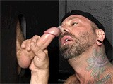 After Giving Johnny a Helping Hand (and Mouth) In His Recent Blindfolded Encounter With Allen, the Pledgemaster Wants Another Taste of This Scruffy Young Straight Guy's Dick. He Invites Johnny Over to Get Sucked Off At the Gloryhole.