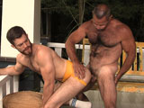gay porn Trent Locke And Tim Kelly || Sexy and bearded Trent Lock gets fucked by hairy man Tim Kelly