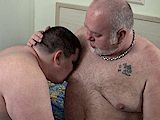 a Hot Chubby Cub Fucks a Hot Hairy Silver Daddy Bear