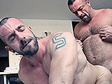 gay porn Bodybuilders Fuck Bareback || Musclehunk Mauri Fucks Spanish Bodybuilder Jorge Ballantino Bareback